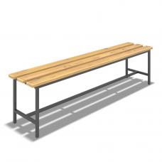 Скамейка для раздевалки (L=2000мм)