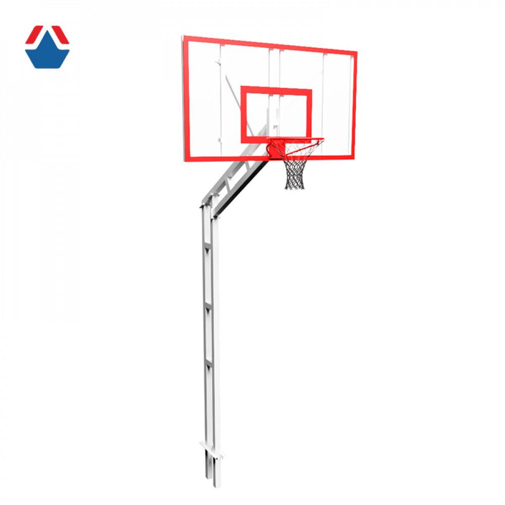 Стойка баскетбольная разборная бетонируемая (вынос 1200mm)