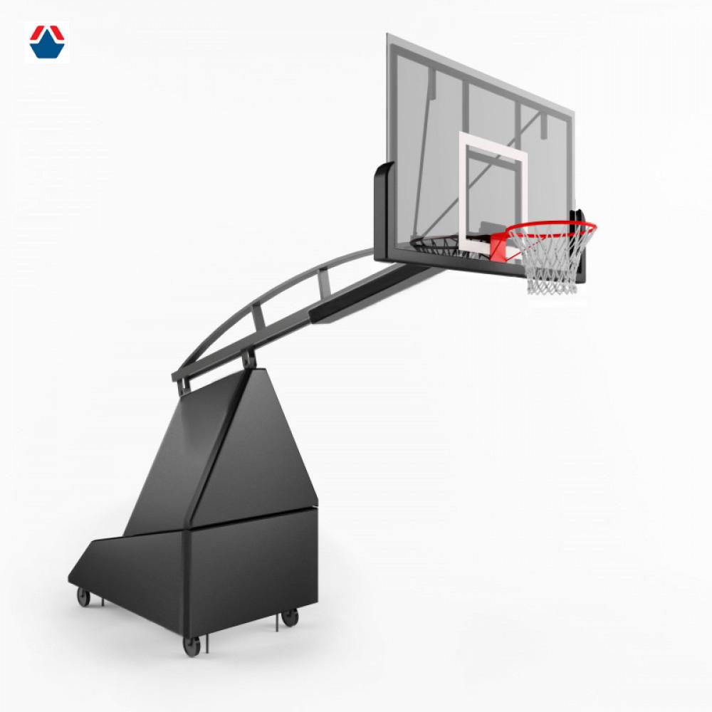 Стойка баскетбольная мобильная складная 2300 (эксклюзив)