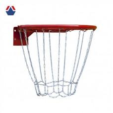 Кольцо баскетбольное №7 СТАНДАРТ Антивандальное с метал. сеткой