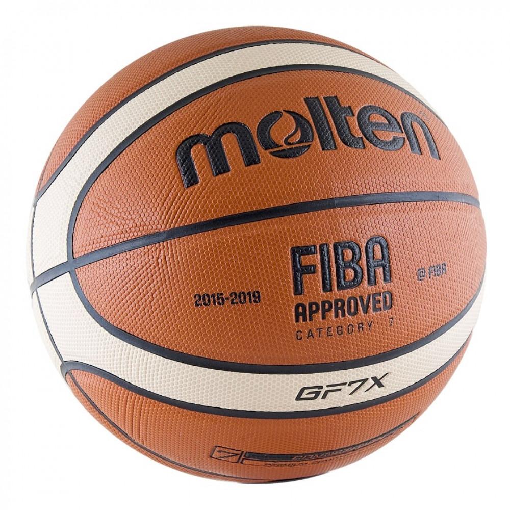 Мяч баскетбольный MOLTEN BGF7X р.7 FIBA Appr