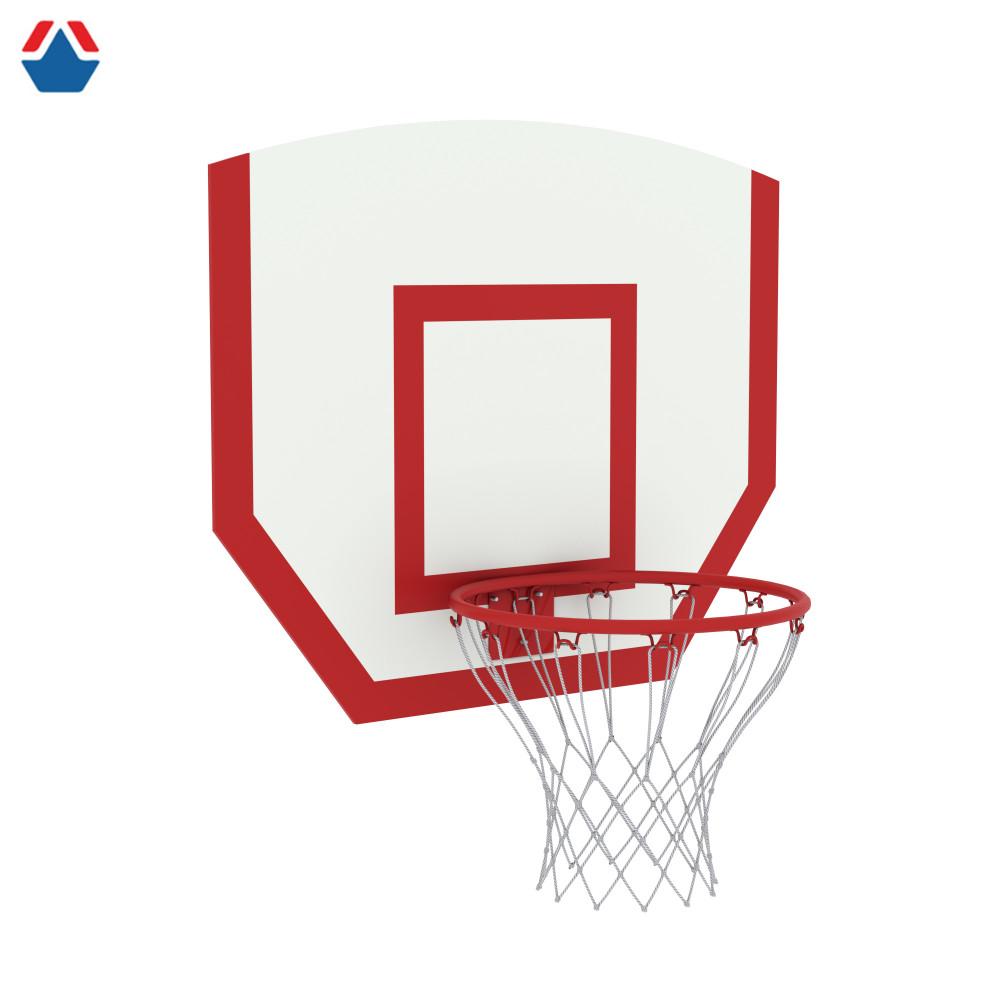 Щит баскетбольный навесной детский фанера (Кольцо №3, сетка в комплекте)