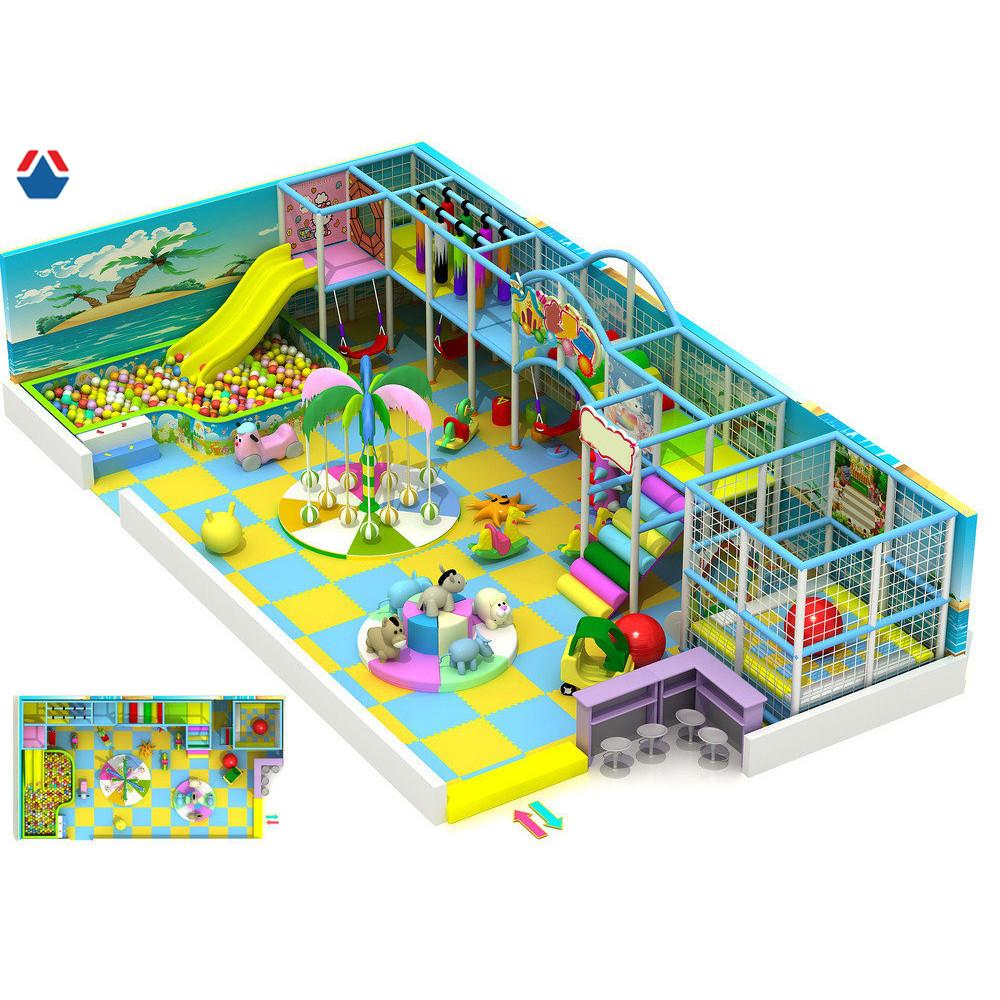 Детская игровая зона Веселый остров