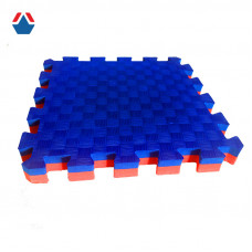 Татами для единоборств 40мм красно-синий