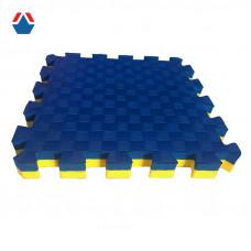 Татами для единоборств 40мм желто-синий