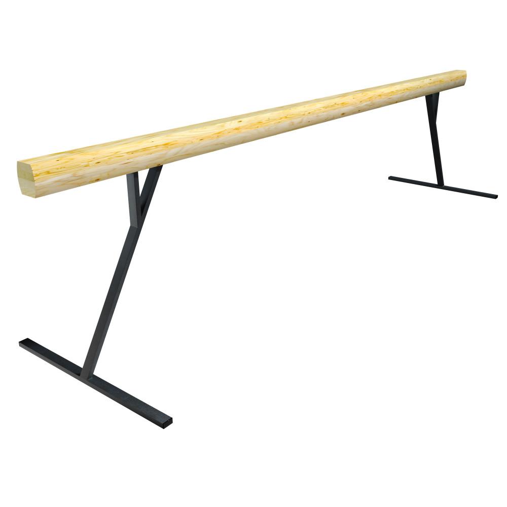 Бревно гимнастическое высокое L=5000