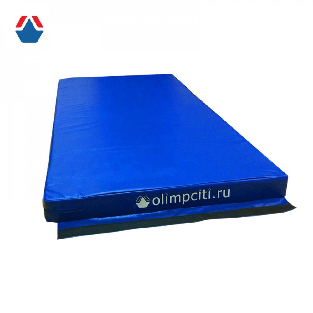 Мат гимнастический школьный Velcro 2000x1000x100мм (тент)
