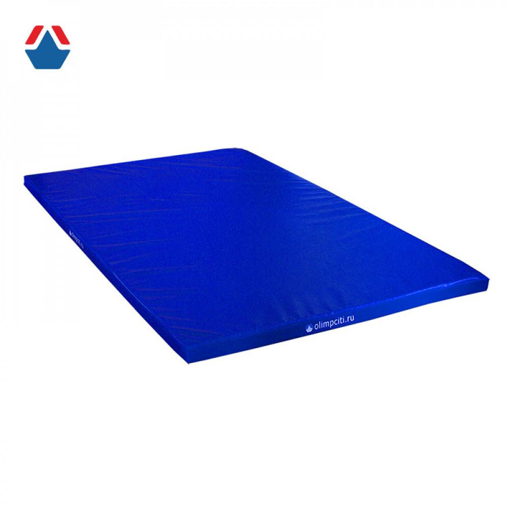 Мат гимнастический школьный Velcro 2000x1000x100мм (тент сертификат Г1) АС