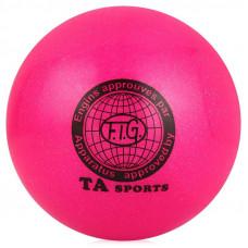 Мяч для художественной гимнастики диаметр 15 см. (розовый)