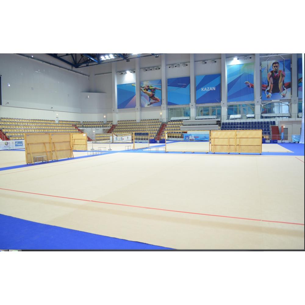 Соревновательный ковер для художественной гимнастики, размер 10х10м. толщина 10мм.