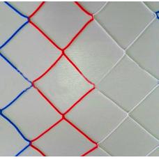 Сетка для гандбольных ворот нить 3,1 (3х2х1х1,3) Триколор