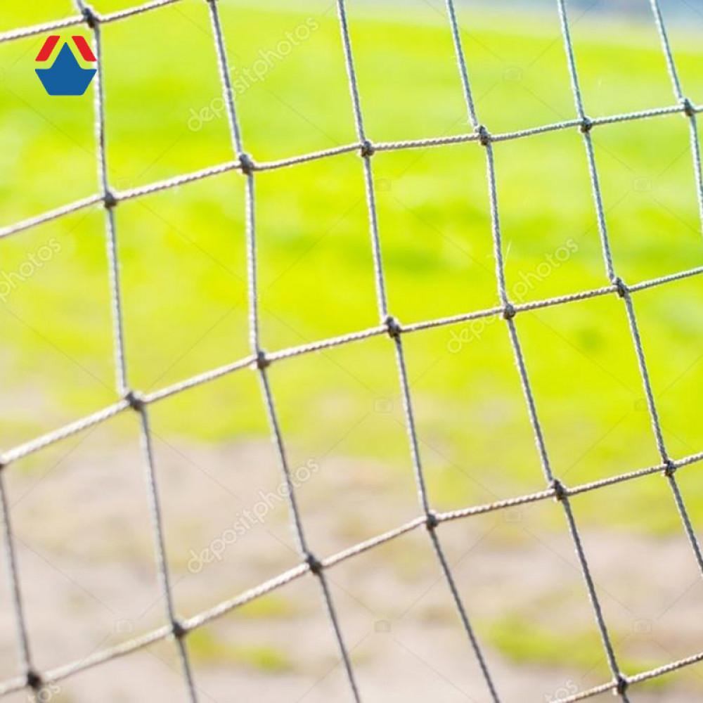 Сетка для Мини-футбола/гандбола  3х2х1х1 м яч. 100х100 мм Ø 3,5