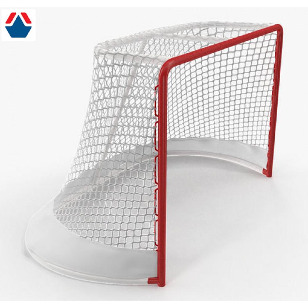 Ворота хоккейные профессиональные  (цена за 1 единицу)+ПРОТЕКТОР ГАШЕНИЯ НА ВОРОТА