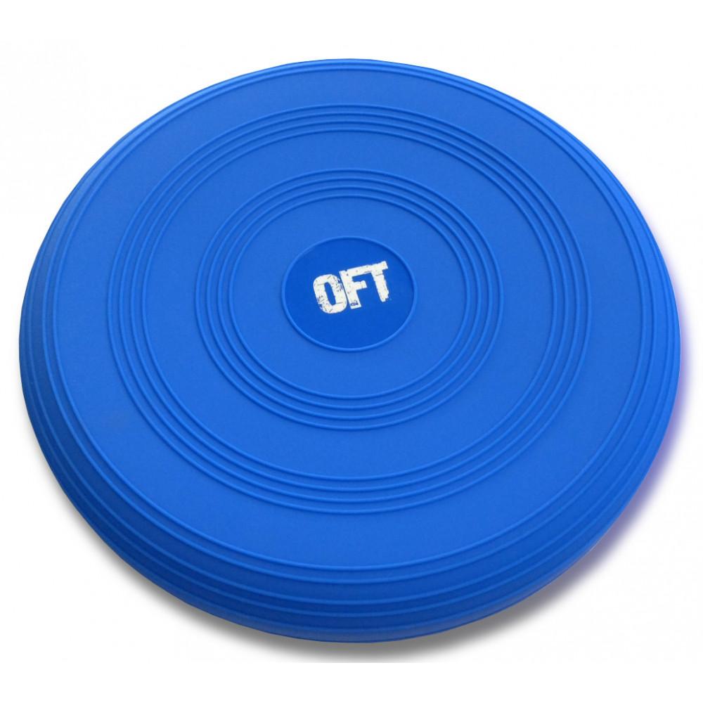 Балансировочная подушка синяя
