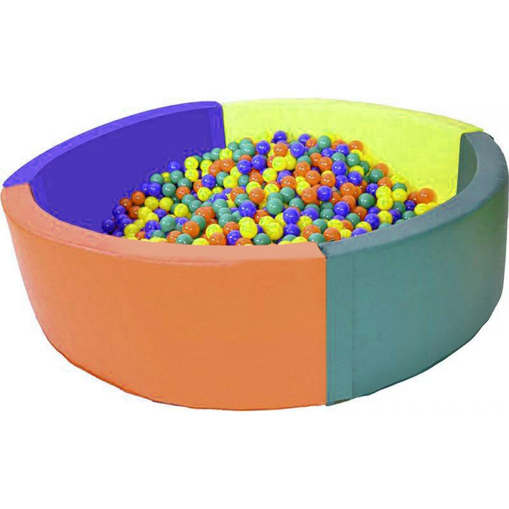 Сухой бассейн круглый D2000х500х100
