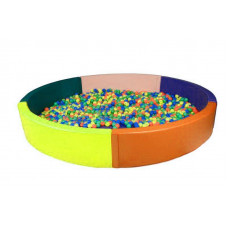Сухой бассейн круглый D2700х400х100