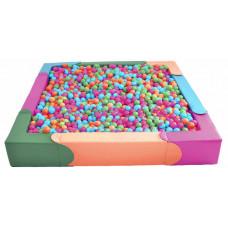 Модульный сухой бассейн 8 элементов 2000х2000х300х150