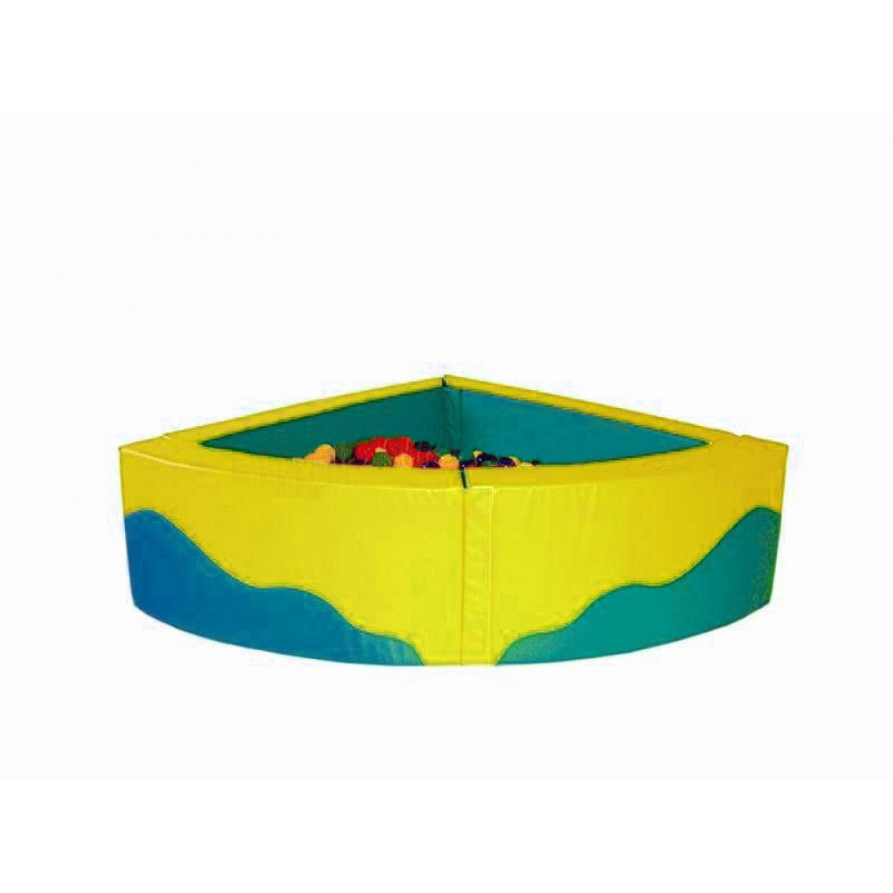 Угловой сухой бассейн 1950х1950х700х150