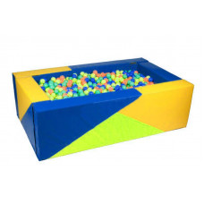 Прямоугольный сухой бассейн 2000х1200х600х200