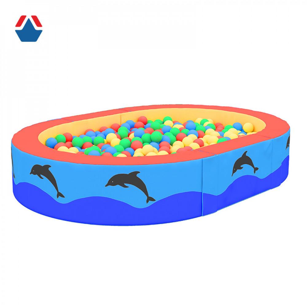 Бассейн сухой Дельфин 1800х1300х500