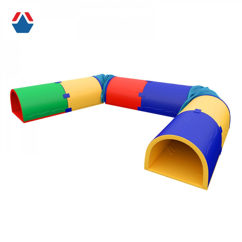 Тоннель для подлезания угловой 8 секций