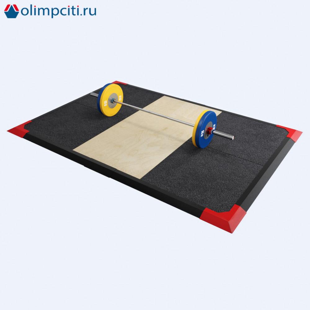 Помост тяжелоатлетический 2.0 (3х3 метра)