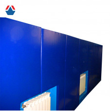 Протектор на стену (мягкая защита стен) на жесткой основе