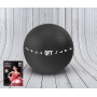 Мяч для фитнеса 75см черный