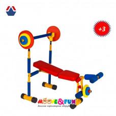 Универсальная скамья для жима детская SH-06