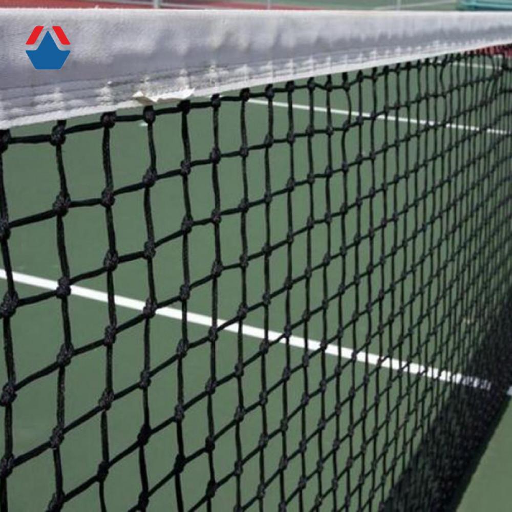 Сетка для большого тенниса 12,8х1,07 м яч. 40х40 мм,обшивка с 4-х сторон, Ø 2,8