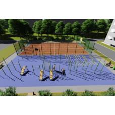 Площадка для спортивных игр и занятий спортом 2
