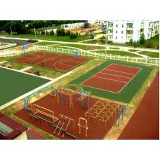 Площадка для спортивных игр и занятий спортом