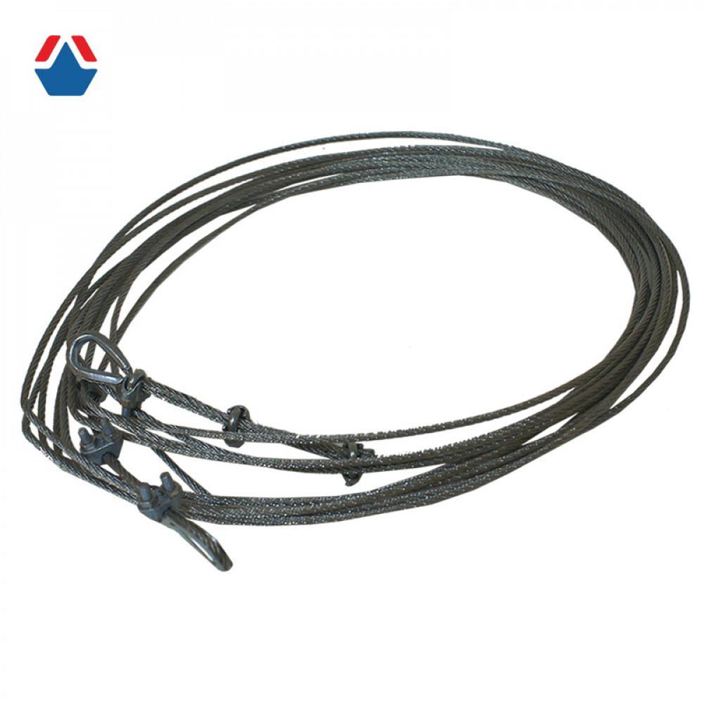 Трос для сетки ВБ (металл 15000mm)