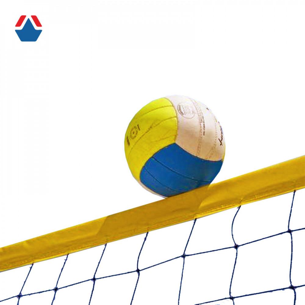 Сетка волейбольная Пляжная с ПВХ тросом (нить 2,2 мм)