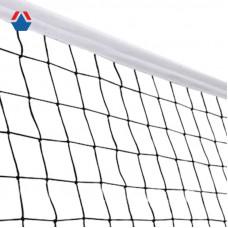 Сетка волейбольная d 3,1мм БЕЛАЯ обшитая с четырех сторон, с ПВХ тросом