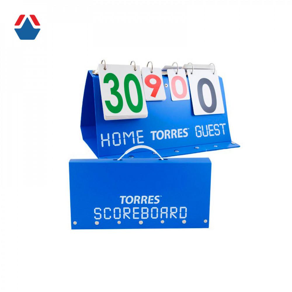 Счетчик для волейбола и тенниса TORRES (табло перекидное)